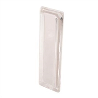 Prime Line F 2549 - Window Finger Pull, Self-Adhesive, Clear Plastic