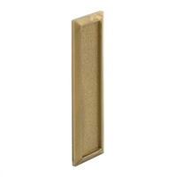 Prime Line F 2551 - Window Finger Pull, Self-Adhesive, Gold Plastic