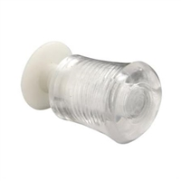 Prime Line F 2616 - Sliding Window Knob, Clear Acrylic