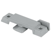"Prime Line F 2659 - Window Sash Lock, Cam Action, 3/8"" Tongue, Gray"