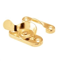 Prime Line F 2662 - Window Latch&Keeper, Cam Type, Brass Plated