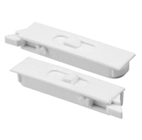 Prime Line F 2749 - Vinyl Window Tilt Latch, 1Pr, White