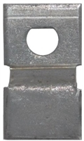Don Jo Fbg-1-D-Steel, Flush Bolt Guide, Steel Finish