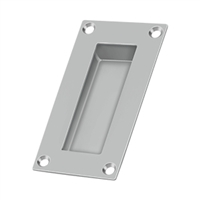 "Deltana Fp155U32D - Flush Pull, Rectangular, Stainless Steel, 4""X 2""X 1/2"" - Us32D Finish"
