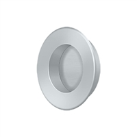 "Deltana Fp178U26D - Flush Pull, Round, Hd, 1-7/8"", Solid Brass - Brushed Chrome Finish"