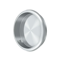 "Deltana Fp221Ru26 - Flush Pull, Round, 2-1/2"" Diam. - Polished Chrome Finish"
