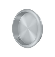 "Deltana Fp221Ru26D - Flush Pull, Round, 2-1/2"" Diam. - Brushed Chrome Finish"
