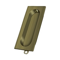 "Deltana Fp222U5 - Flush Pull, Rectangle, 3-1/8""X 15/16"" - Us5 Finish"