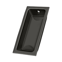 "Deltana Fp227U10B - Flush Pull, Large, 3-5/8""X 1-3/4""X 1/2"" - Oil-Rubbed Bronze Finish"