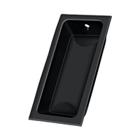 "Deltana Fp227U19 - Flush Pull, Large, 3-5/8""X 1-3/4""X 1/2"" - Paint Black Finish"