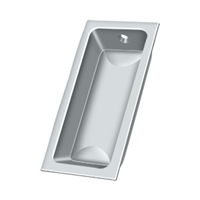 "Deltana Fp227U26 - Flush Pull, Large, 3-5/8""X 1-3/4""X 1/2"" - Polished Chrome Finish"