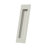 "Deltana Fp7178U14 - Flush Pull, Rectangular, Hd, 7"" X 1-7/8"" X 3/8"", Solid Brass - Polished Nickel Finish"