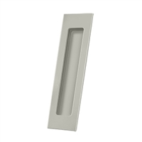 "Deltana Fp7178U15 - Flush Pull, Rectangular, Hd, 7"" X 1-7/8"" X 3/8"", Solid Brass - Brushed Nickel Finish"