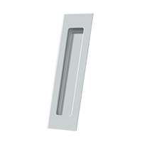 "Deltana Fp7178U26 - Flush Pull, Rectangular, Hd, 7"" X 1-7/8"" X 3/8"", Solid Brass - Polished Chrome Finish"