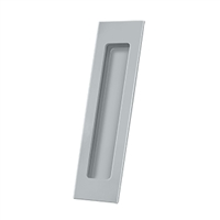 "Deltana Fp7178U26D - Flush Pull, Rectangular, Hd, 7"" X 1-7/8"" X 3/8"", Solid Brass - Brushed Chrome Finish"
