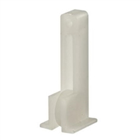 "Prime Line G 3002 - Sliding Window Roller Assembly, 1/2"" Flat Nylon Wheel"