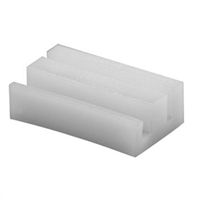 Prime Line G 3103 - Sliding Window Top Guide, Snap-In, Nylon