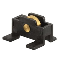 "Prime Line G 3153 - Sliding Window Roller Assembly, 1/4"" Brass Wheel"