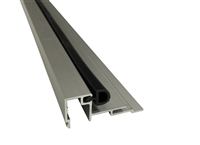 "Stanley Duraglide Square Glass Stop Gutter- 1/4"" Glass, Clear, Includes Vinyl, 4 Foot Length"