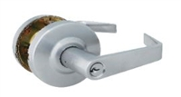 Global Door Controls Gal170L-626 Gal Series Eiffel Grade 2 Lever, Dummy