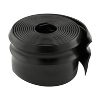 Prime Line Gd 12125 - Wood Door Bottom Seal, 9' Long, Black Vinyl