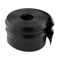 Prime Line Gd 12126 - Wood Door Bottom Seal, 16' Long, Black Vinyl