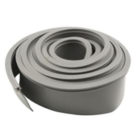 Prime Line Gd 12274 - Garage Door Bottom Seal, Metal Door, 16' Long, Gray Vinyl