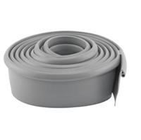 Prime Line Gd 12275 - Garage Door Bottom Seal, Metal Door, 10' Long, Gray Vinyl