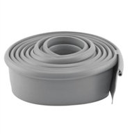Prime Line Gd 12276 - Garage Door Bottom Seal, Metal Door, 16' Long, Gray Vinyl