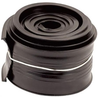 Prime Line Gd 12293 - Metal Door Bottom Seal, 9 Ft, Black Vinyl, Fits Clopay