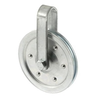 "Prime Line Gd 52108 - Pulley With Strap & Bolt, 4"" Diameter"
