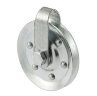 "Prime Line Gd 52189 - Pulley W/2 Straps & Axle Bolts, 3"" Diameter"