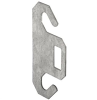 "Prime Line Gd 52198 - Dual Spring Hook Plate, For 3"" Pulley"