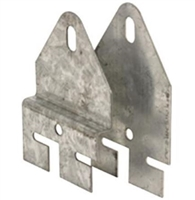 "Prime Line Gd 52287 - Dual Spring Hook Plates, For 4"" Pulley, Heavy Duty"