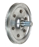 "Garage Door 4"" Sheave Pulley With Stud"