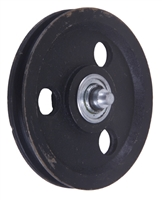 "Garage Door 5-1/2"" Sheave Pulley With Shaft"