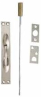 Global Door Controls Gh-197-Us26, Flush Bolt, In Bright Chromium Plated