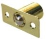 Global Door Controls Gh-2950-Us3, Catches & Latches, Mortise Ball Catch, In Bright Brass