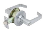 Global Door Controls Glc-5180L-626 Glc Series Grade 3 Leverset, Storeroom Lockset, 626 Satin Chromium Plated Finish