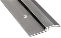 "Gorilla Heavy Duty Aluminum 3-3/4"" Wide x 1/2"" Tall Bumper Seal Panic Threshold, Made In USA, Specify Size and Finish"