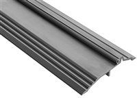 "Gorilla Heavy Duty Aluminum 5"" Wide x 1"" Tall Bumper Seal Panic Threshold, Made In USA, Specify Size and Finish"