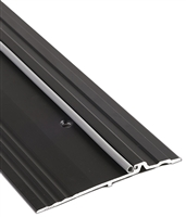 "Gorilla Heavy Duty Aluminum 5"" Wide x 3/4"" Tall Bumper Seal Panic Threshold, Made In USA, Specify Size and Finish"