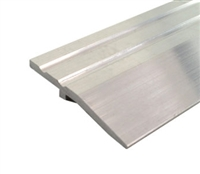 "Gorilla Heavy Duty 2"" Wide x 1/4"" Tall Aluminum Half Saddle Threshold for Commercial Applications, Made In USA, Specify Size and Finish"