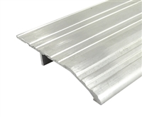 "Gorilla Heavy Duty 3"" Wide x 1/2"" Tall Aluminum Half Saddle Threshold for Commercial Applications, Made In USA, Specify Size and Finish"