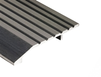 "Gorilla Heavy Duty 4"" Wide x 1/2"" Tall Aluminum Half Saddle Threshold for Commercial Applications, Made In USA, Specify Size and Finish"