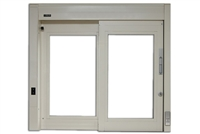 Nabco Gt1500-01L-M, Gt1500 Drive-Thru Window, Manual Non-Electric Single Slide, Left Hand, 50 In Frame Width, Glass Not Included