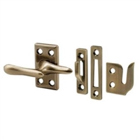 Prime Line H 3683 - Casement Window Lock, Antique Brass Plated