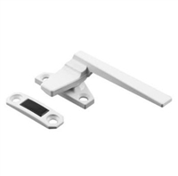 Prime Line H 3821 - Casement Locking Handle, Right Hand, Off-Set Base, White