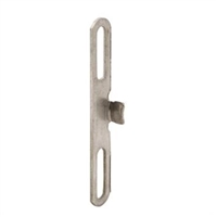 Prime Line H 3888 - Casement Window Keeper, Stainless Steel