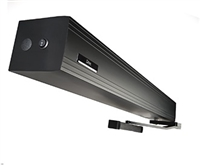 Hunter Ditec Entrematic (Assa Abloy) HA8-LP, Low Energy ADA Swing Door Operator, Push Application, Single Door, Tuxedo Black Finish